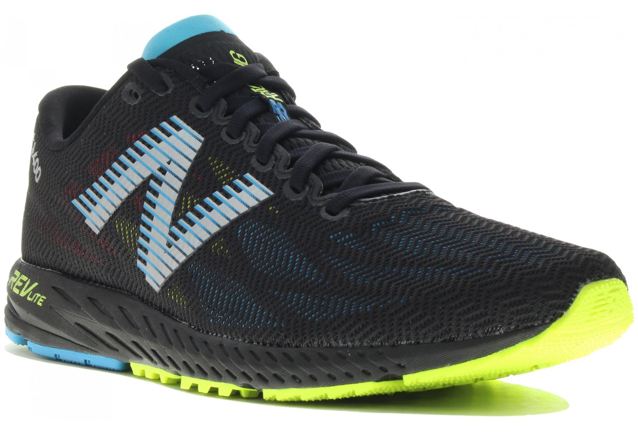 New Balance Femme 1400v6 Chaussures De Course Baskets Sneakers Noir Bleu Rose Sport